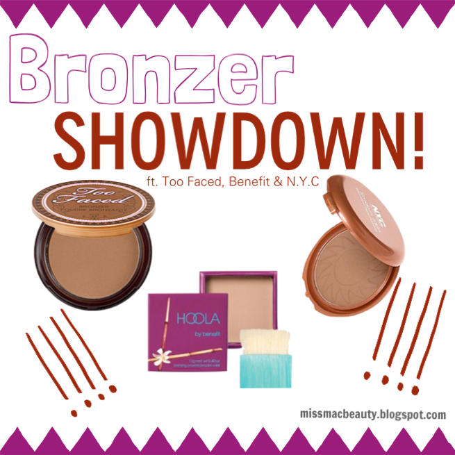 bronzer, makeup, fight, n.y.c, too faced, benefit, benefit hoola, blog, beauty, sephora, target