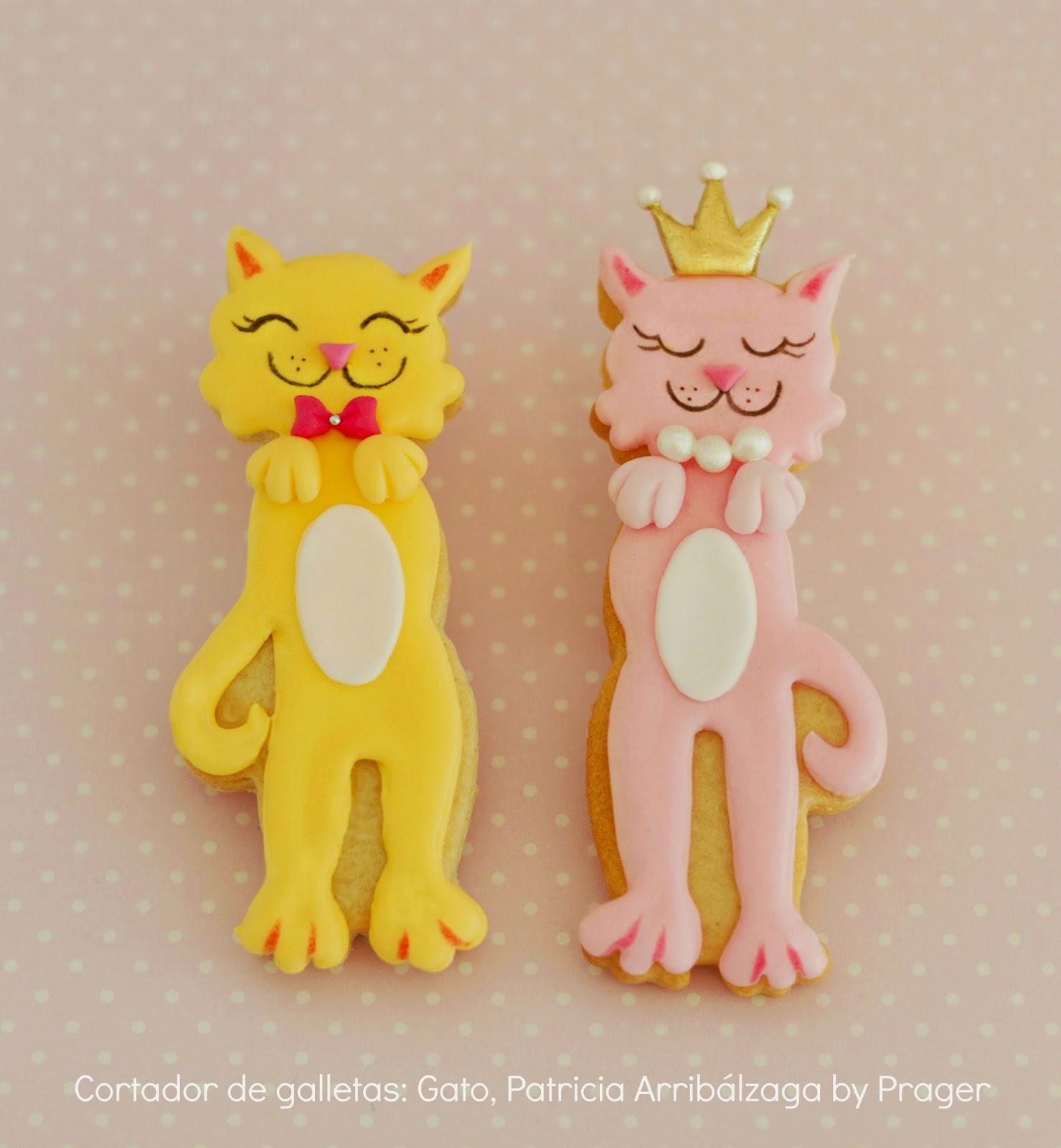 Galletas decoradas gatos