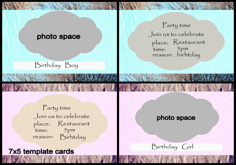5x7 index card template