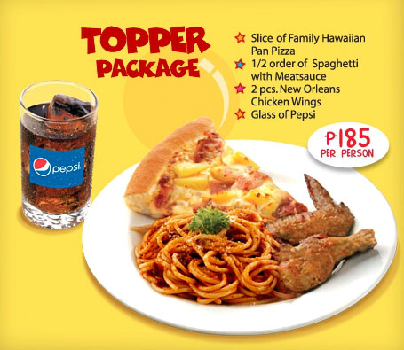 Pizza Hut Kids Party Food Package