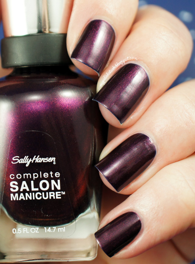 sally hansen swatch manicure belle of the ball