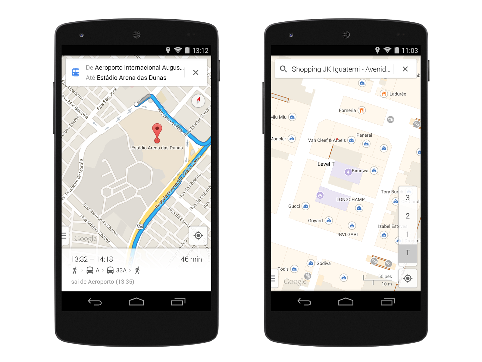 how to get long lat on google maps