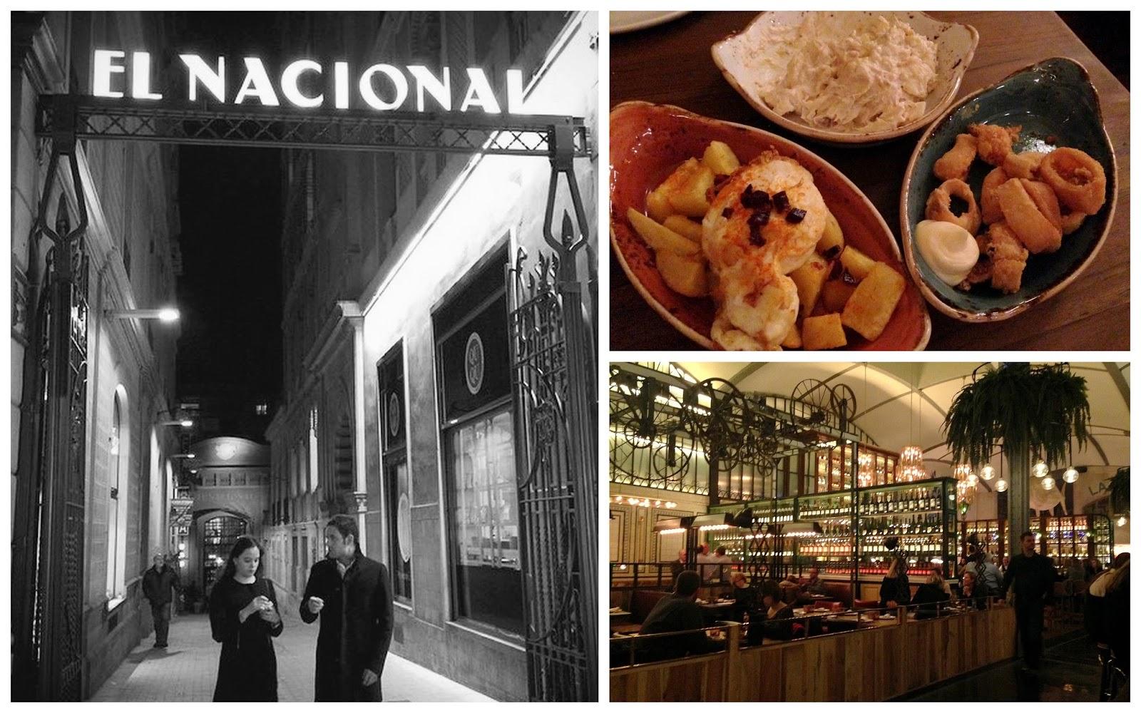 restaurante el nacional tapas la taperia sitio encanto gastronomia barcelona mágica bcn
