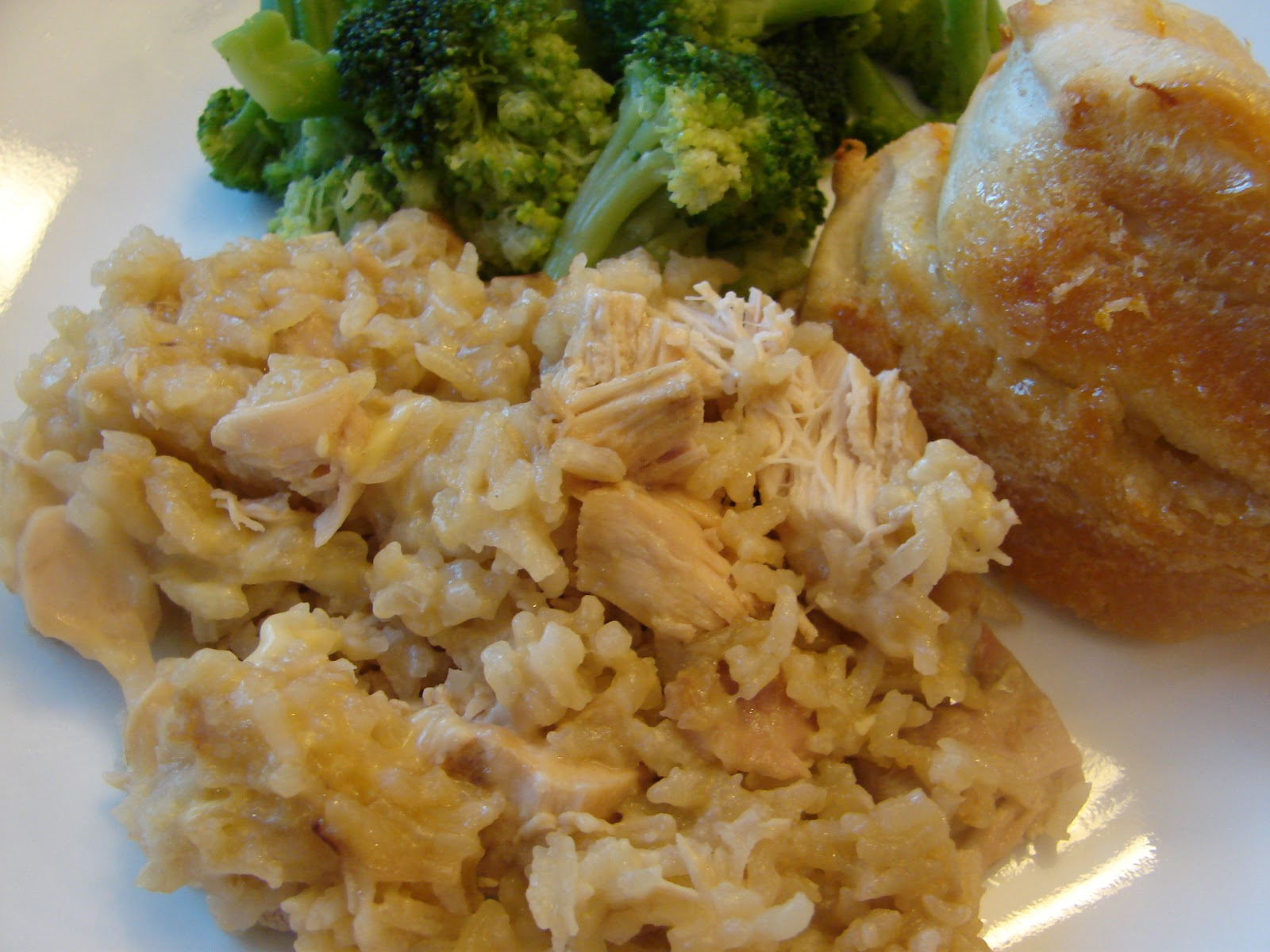 Bear in the Kitchen: Chicken and Rice Casserole