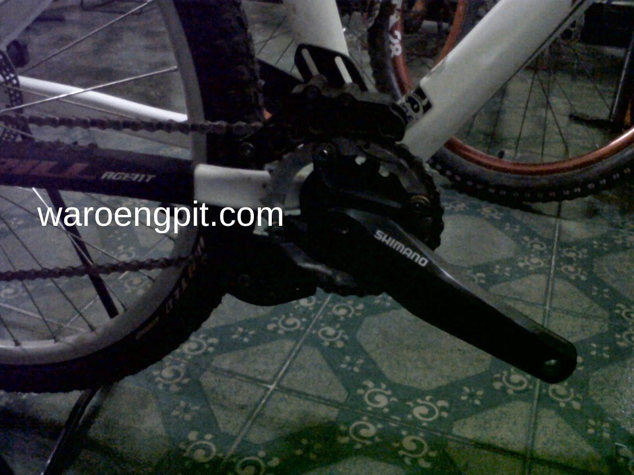 Sepeda Gunung Rakitan merek Thrill 4x 2012 Bekas-5
