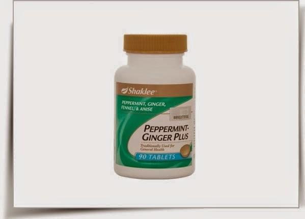 atasi alahan hamil dengan peppermint ginger plus shaklee
