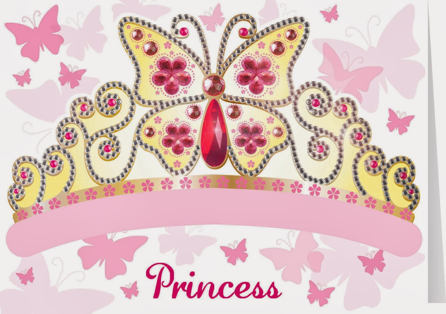 Free Printable Princess Tiara. | Is it for PARTIES? Is it FREE? Is it ...