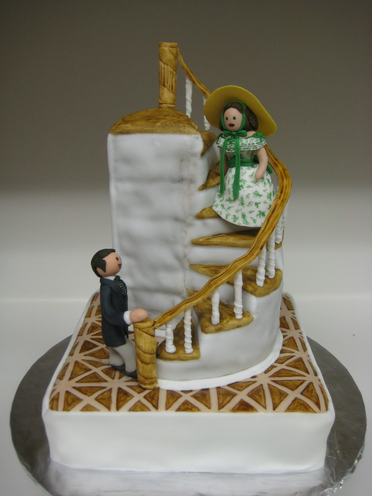 Gone With The Wind Birthday Cake