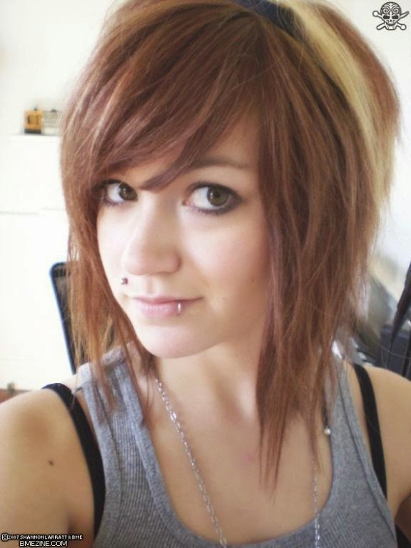 a line hairstyles with bangs}