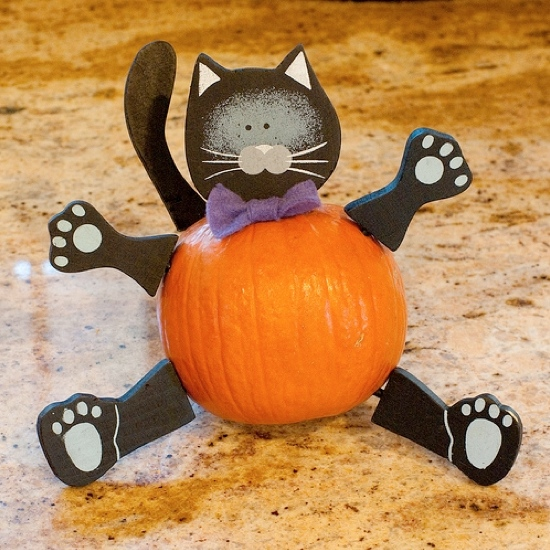 Funny animal pumpkin without carving ideas arts and