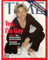 Ellen DeGeneres 'Yep, I'm Gay' Time Magazine cover April 14, 1997
