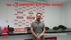 Solidaridad con Damián García