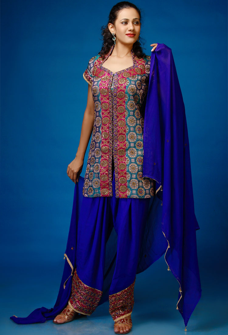 Indian Party Wear Suits 2012 ABP Fashion