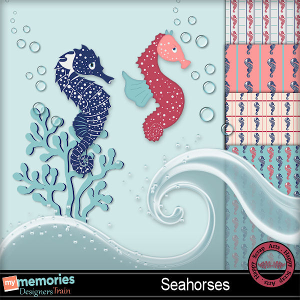 Aug.2016 freebie HSA Seahorses