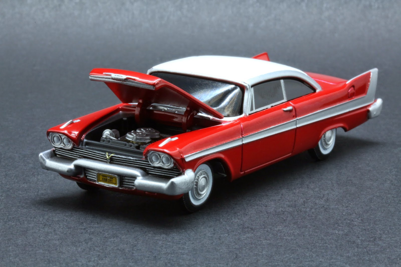 diecast hobbist 1958 plymouth fury christine. Black Bedroom Furniture Sets. Home Design Ideas