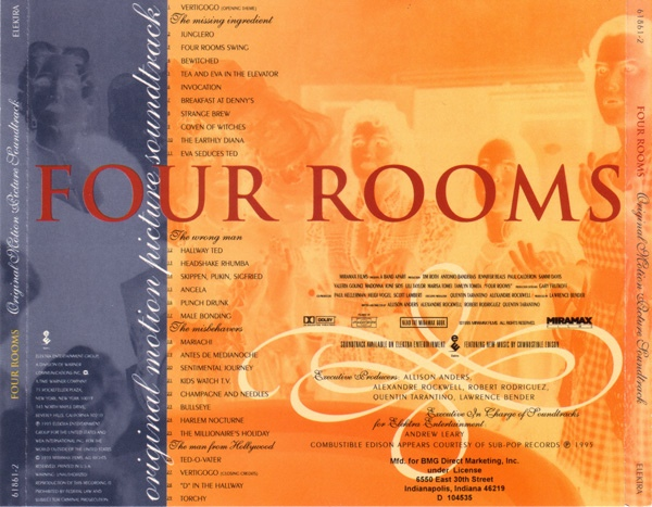 Music Crates Four Rooms Soundtrack 1995
