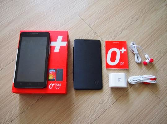 O Plus USA Fab GO Unboxing, Preview And Initial Impression - Retail Package