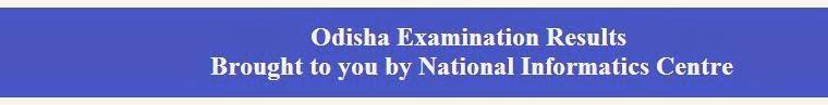 Orissa Class10th Results 2014