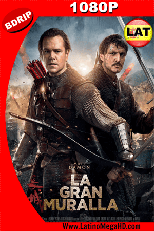 La Gran Muralla (2016) Latino HD BDRIP 1080P - 2016