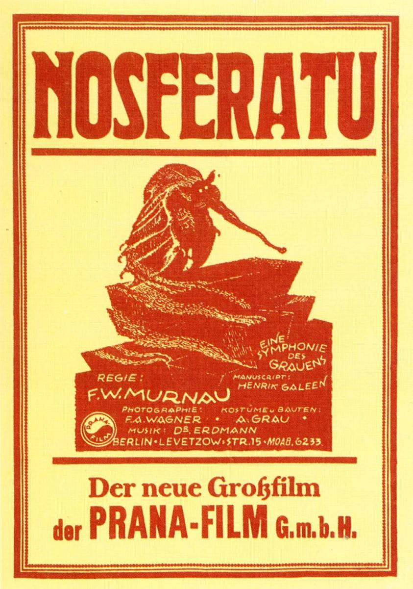 Ver película : Nosferatu (FW Murnua), 1922