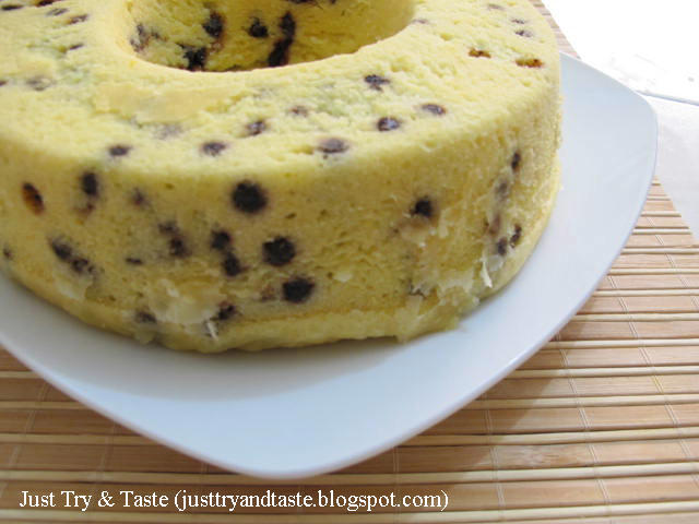 Cake Tape Singkong & Chocolate Chips Kukus