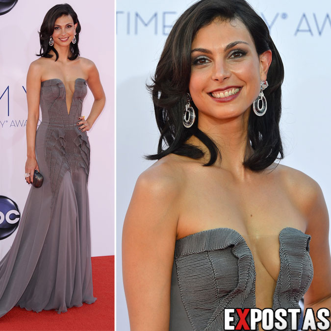 Morena Baccarin: 64th Primetime Emmy Awards - Nokia Theatre em Los Angeles - 23 de Setembro de 2012
