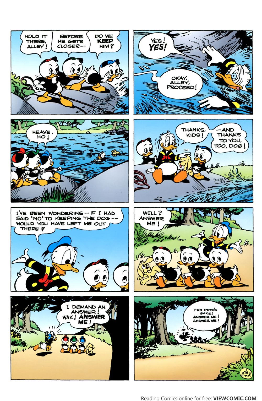 donald duck v2 006 2015 reading comics online for free. Black Bedroom Furniture Sets. Home Design Ideas