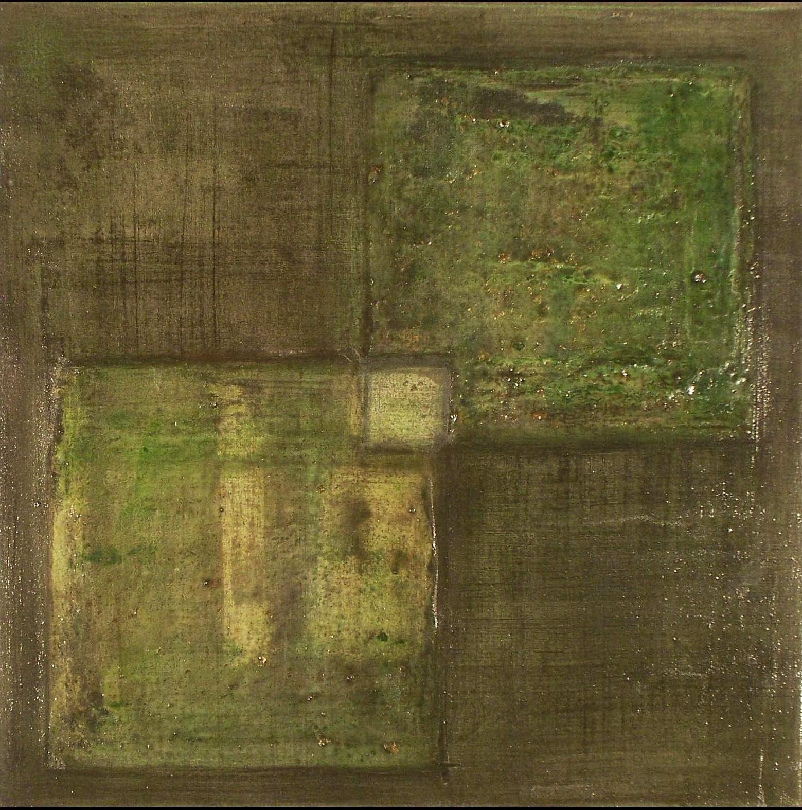 Pinturas abstractas de vanina martinez cuadrados for Cuadros en relieve abstractos
