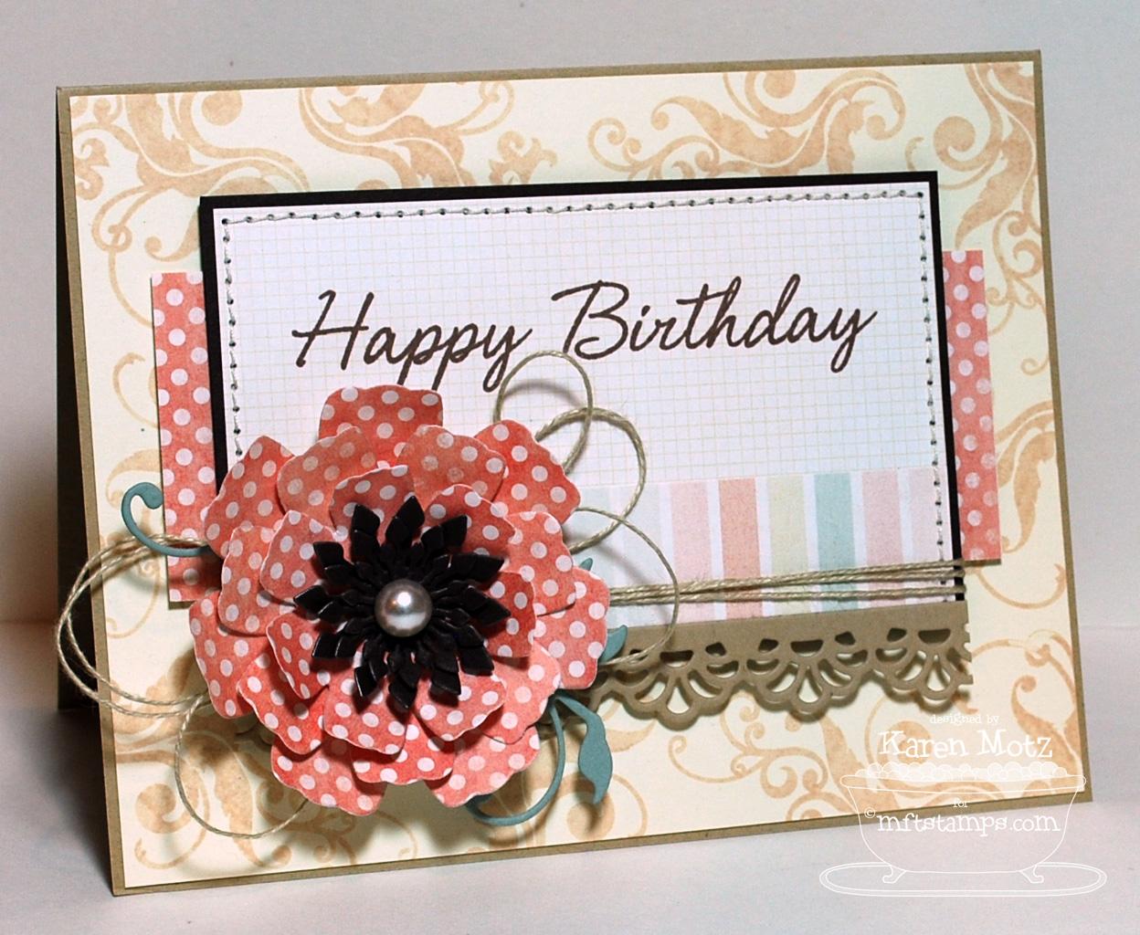 Paper playhouse happy birthday