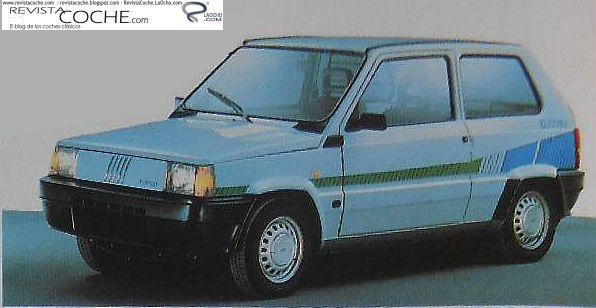 Revista Coche Fiat Panda Elettra El Primer Elctrico De