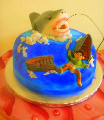 Ini dibuat istimewa untuk suaminya yang mempunyai hobi memancing