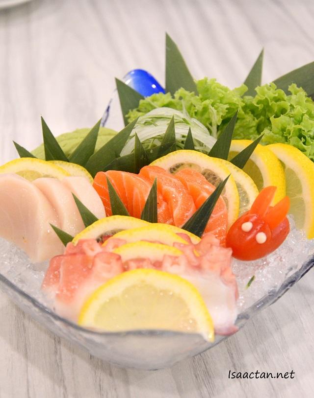 Sashimi , Take (3 types combo) - RM16.80