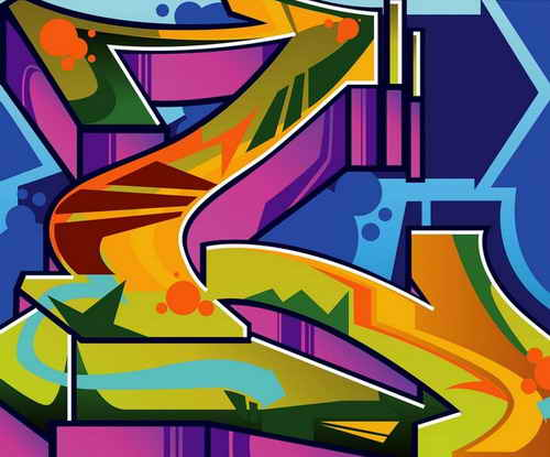 Graffiti syles font design of graffiti alphabet l and m - L alphabet en graffiti ...