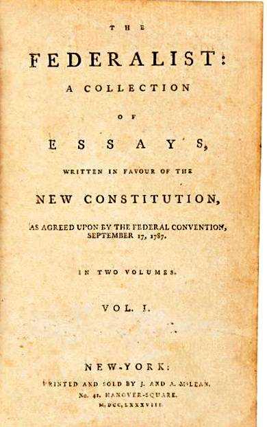 federalist paper 85