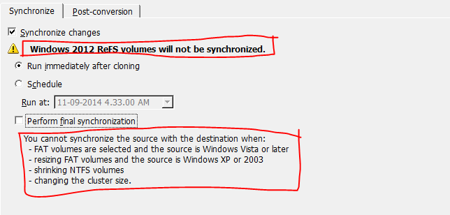 Currently There Are Some Limitation With Synchronization As Mentioned Below But Workarounds Always Available
