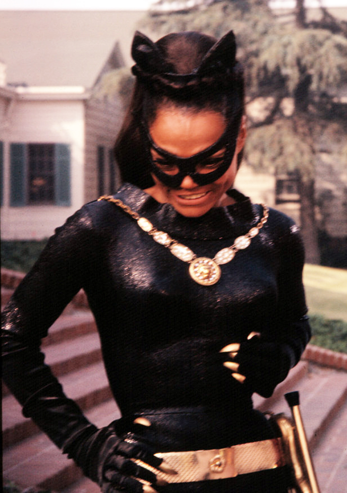Catwoman Eartha Kitt Julie Newmar Movie Wallpapers: Catw...