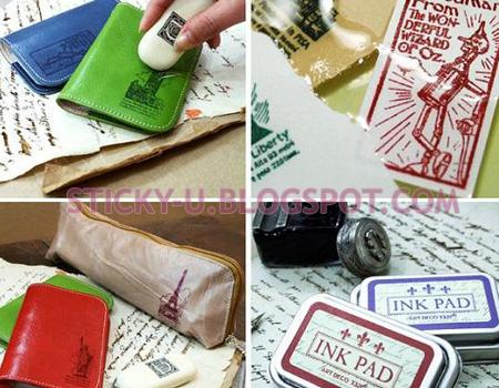 040: Art Deco Ink Pad