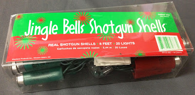 Shotgun Shell Shaped Lights
