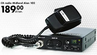 CB radio Midland Alan 102 z Biedronki