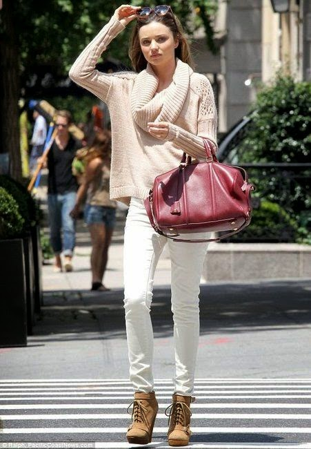 Stylizacje dla białych spodni
