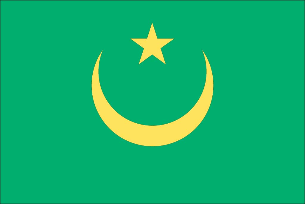 Mauritania Flag Pictures