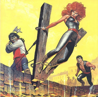 Don Lawrence Storm Comic Art