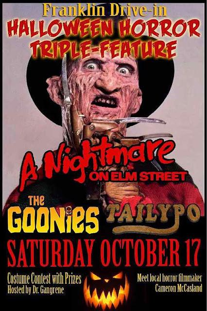 Franklin Drive-In Halloween Horror Triple-feature
