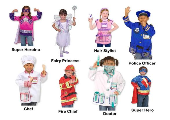 Melissa and Doug dramatic Doug Costumes