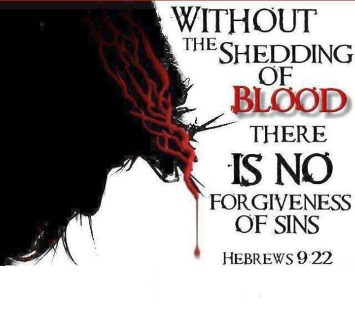 Shedding of blood