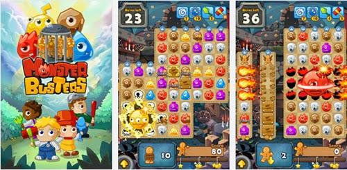 Juega gratis a Monster Busters en tu teléfono movil con Android