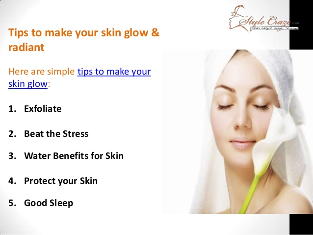 how to get radiant skin