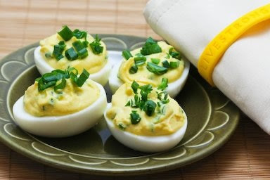 Chipotle-Lime Deviled Eggs