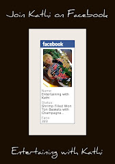 Entertaining with Kathi is now on Facebook, too!