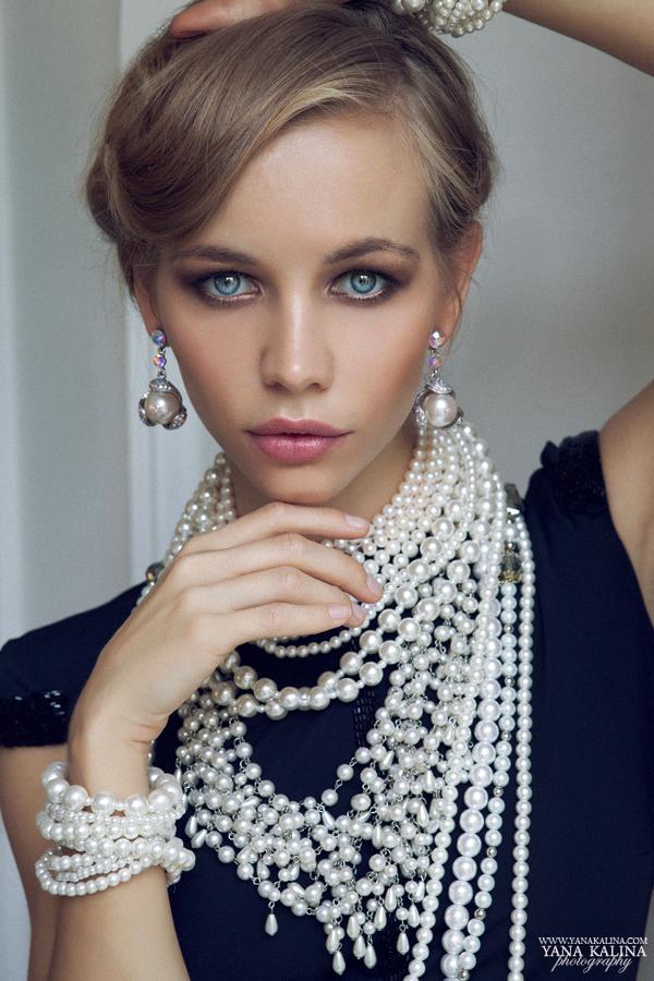 Русская блондинка в возрасте
